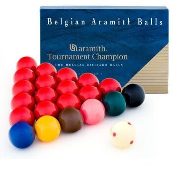 Шары Aramith Tournament Champion PRO-Cup Snooker  Ø52,4 мм