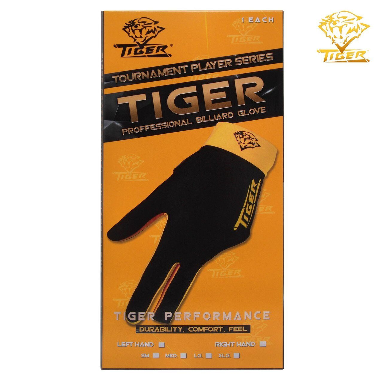 Перчатка Tiger Professional Billiard Glove правая XL