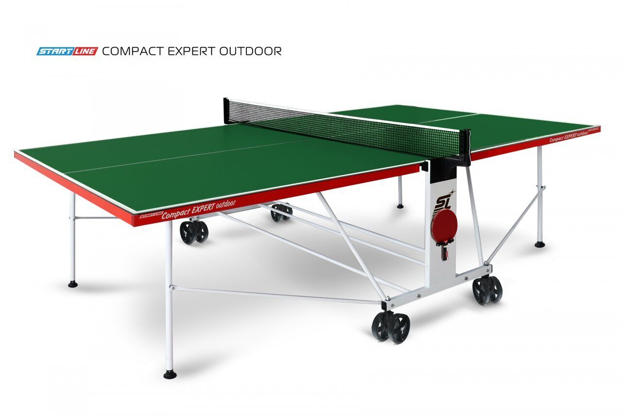 Теннисный стол Compact Expert Outdoor green